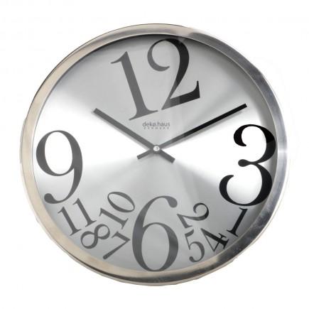 Reloj de Pared Cromado 32...