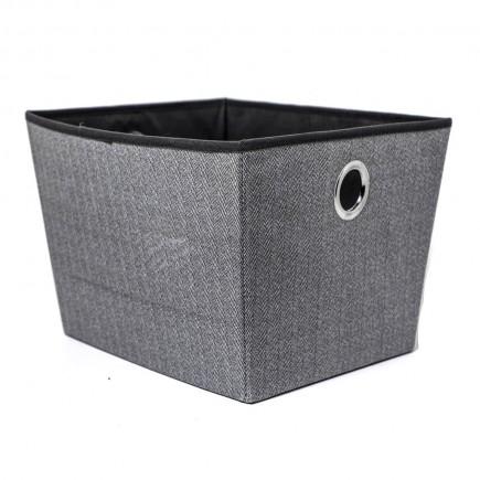 Caja para almacenaje, gris