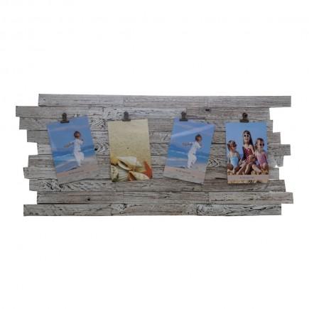 Portarretratos de madera...