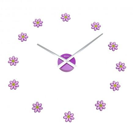 Reloj de pared flores 27cm...