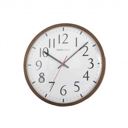 RELOJ DE PARED WOOD LINE DARK